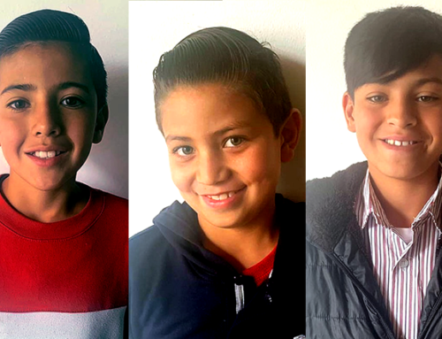 Marc, Daniel & George – Ages 13, 11 & 9