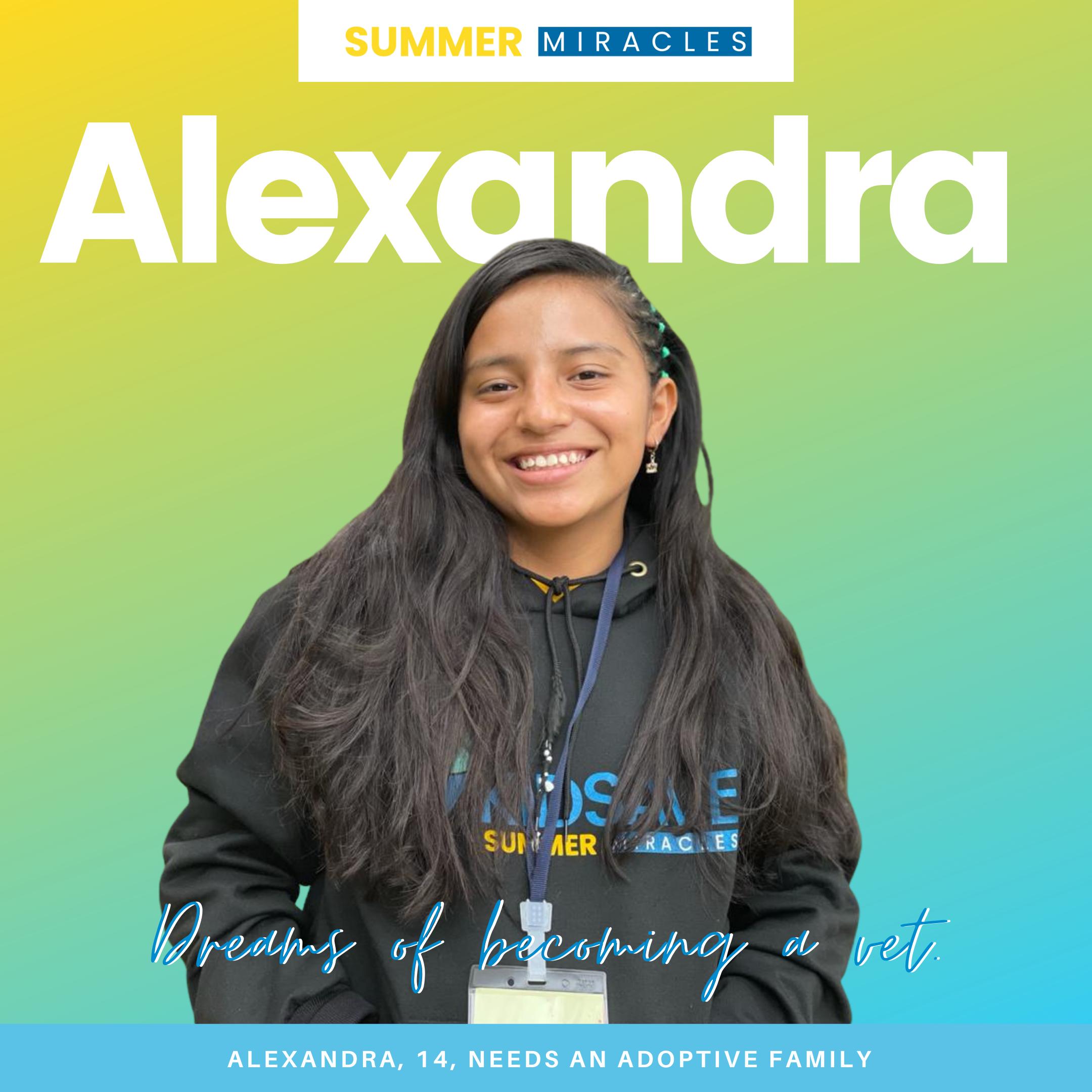 Meet Alexandra